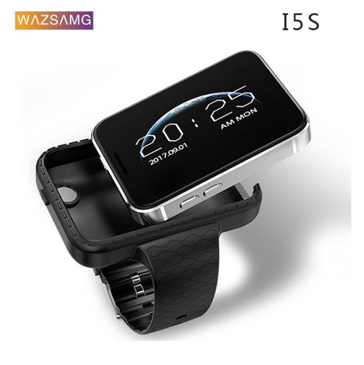 I5S Smart Watch Phone Watch Card Large Screen Smart New Universal Watch Black Standard