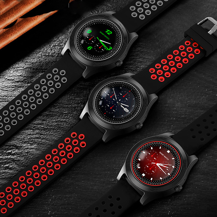 Smart Watch TF8 Sports Fitness Watch Support Memory Card SIM Card Phone Smartwatch Bluetooth Android black standard