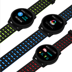 Smart Watch Men Women Digital Sport Watch Fitness Clock Heart Rate Blood Pressure Monitor Smartwatch black blue standard