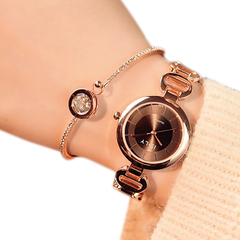 New Brand JW Bracelet Watches Women Luxury Crystal Dress Wristwatches Clock Women's Fashion Casual golden one size