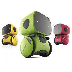 Robots for Kids Dance Music Recording Dialogue Touch-Sensitive Control Interactive Toy Smart Robotic green Standard configuration
