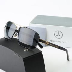Mercedes men's polarized sunglasses BENZ auto supplies wholesale driver driving glasses gray standard