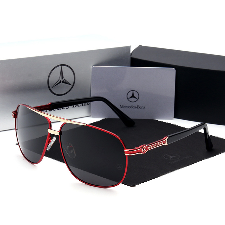 Sunglasses women's new polarized sunglasses 746 men's sunglasses sunglasses box sunglasses red standard