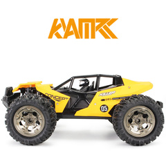 New 1:12 high-speed big-foot off-road remote control car Cool super large rechargeable climbing car yellow large size