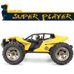 New 1:12 high-speed big-foot off-road remote control car Super large rechargeable climbing car model yellow large size