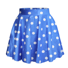 Best selling digital printing dot fashion women's skirt sweet and lovely casual tutu oen size 1