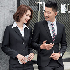 Men / Women Ladies Business Suit Formal Suit men / black m