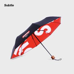 Subtle Sun Net Red Umbrella Creative Tide Brand Dual-Use Folding UV Protection Sunscreen ONE COLOR