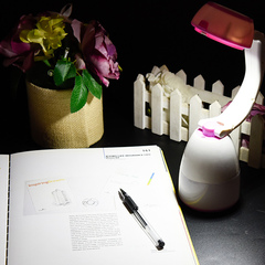 Multi-functional hand lantern family outdoor lamp flashlight 3 in 1 new camping lamp pink One Size