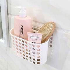 Bathroom wall hanging bathroom toilet bathroom bathroom supplies suction wall - type hole - free white 1 a