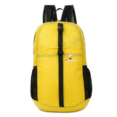 Men and Women Fashion Sports Waterproof Backpack Travel Mountaineering Bag outdoor Backpacks yellow 30*40*13cm
