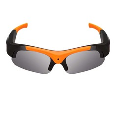 Smart HD 1080P Sports Camera Glasses Cycling Record Photo Digital Sunglasses black Wide angle