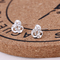 2 Pair KSH 79 Oasis 1 pair new arrival fashion 925 silver Korean earrings for women gift #11 #12 #11 one size