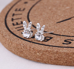 2 Pair KSH 79 Oasis 1 pair new arrival 925 silver Korean earrings studs for women gift#1#4 #4 one size
