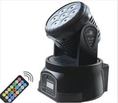 Rotary Head Mobile Stage Lighting Effect Lighting DJ Indoor Disco KTV Club Party Lighting DMX-512  LED mini 7*10W