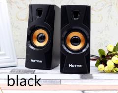 2019 Mobile Week Speakers Computer Speakers Desktop Computer Speakers  Multimedia Notebook Speakers black