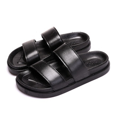 Shoes Shoe s Shoe Men Shoes Mens  Sandals Men And Slippers Men Wear-resistant Sandals For Men black 35