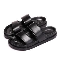 Shoes Shoe s Shoe Men Shoes Mens  Sandals Men And Slippers Men Wear-resistant Sandals For Men black 35