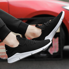 Shoes Men Sneakers Men Shoes Male Shoe New Breathable Mesh Shoes Men Brand Fashion Sneakers For Men black 39