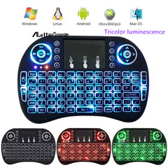 2019 Mobile Week Keyboard  And Mouse Keyboards Wireless Intelligent Keyboard with Touchpad black normal