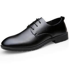 Formal Leather Shoes Men Shoe Men's Shoes Boots Men Business Leather Shoes Low Upper Shoes For Men black 38 leather