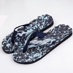 Slippers Men Camouflage Flip Flops Shoes Slippers Sandals Slipper Flip-flops Slipper For Beach blue 41