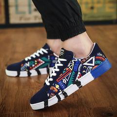 Shoes Men Shoe Men Men's Shoes Sports Shoes Sneakers Men Sports Shoes Student's Board Shoes For Men blue 39