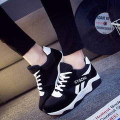 Sneakers Women Athletic Women Shoes Ladies Shoes Women Sports Shoes Air-permeable Shoes For Women black 36
