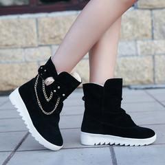Boots Women Boots Ladies Flat Shoes Low Heel Martin Boot Fashion Sneakers Women Sneakers Ladies black 36