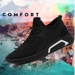 Shoes Men's Shoes Winter Trends Go With Casual Canvas Shoes And Men's Sneakers Men black 39