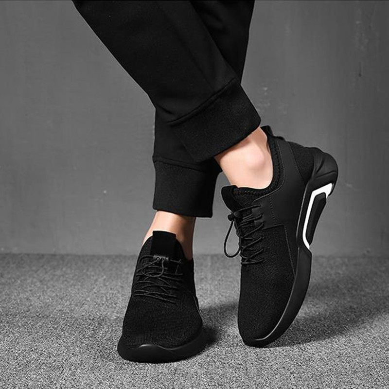 Shoes Men's Shoes Winter Trends Go With Casual Canvas Shoes And Men's Sneakers Men black 44 6
