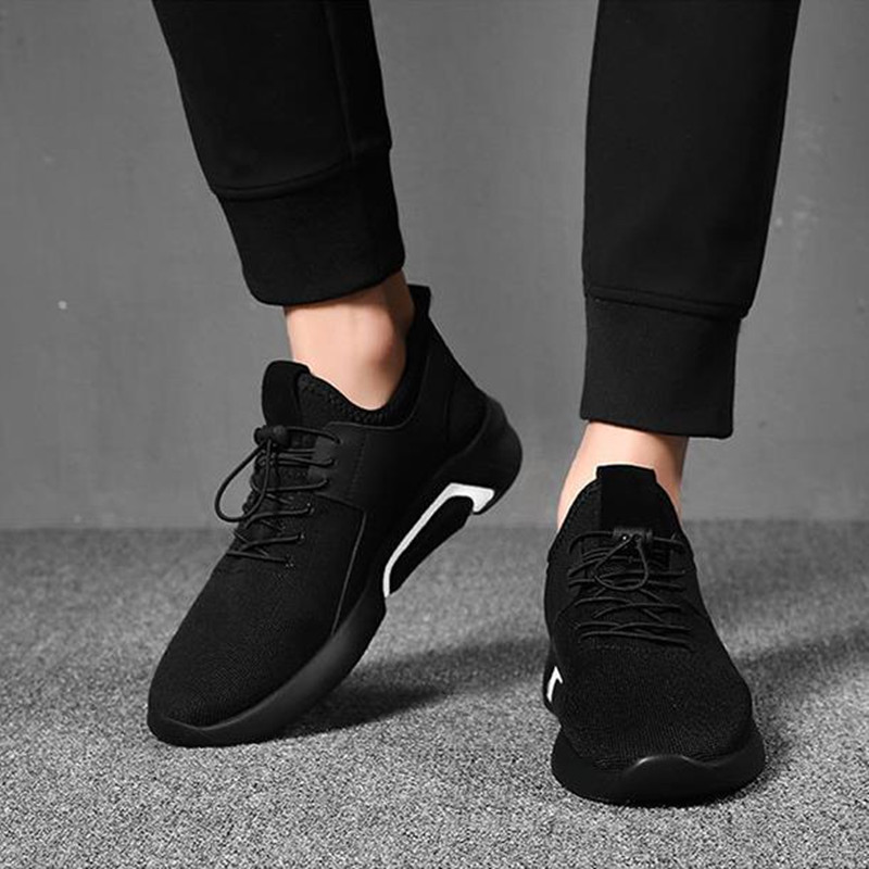 Shoes Men's Shoes Winter Trends Go With Casual Canvas Shoes And Men's Sneakers Men black 44 7