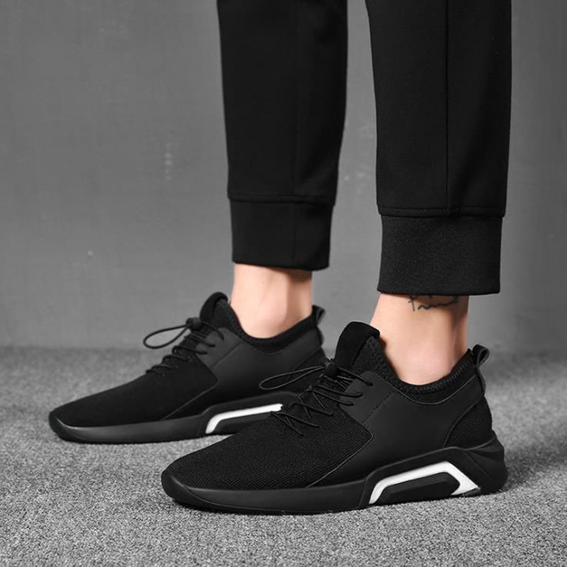 Shoes Men's Shoes Winter Trends Go With Casual Canvas Shoes And Men's Sneakers Men black 44 9