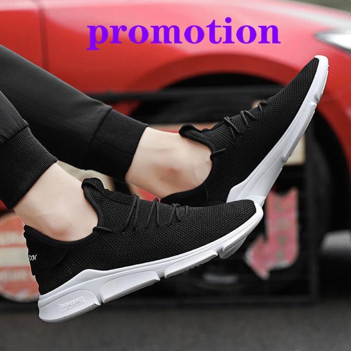 Shoes Men Sneakers Men Shoes Male Shoe New Breathable Mesh Shoes Men Brand Fashion Sneakers For Men black 41