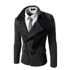 Business Mens Blazer Casual Blazers Men Formal Jacket Popular Design Men Dress Suits Men Jackets grey M