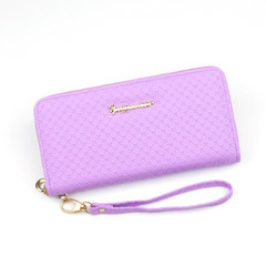 Handbags Women Handbags Ladies Women's Wallet Long Zipper Large Capacity Handbag Wallets Ladies violet normal