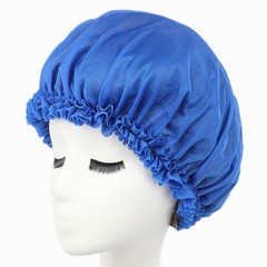 Hats Amp Caps Hats Women Hat Caps Ladies'lace Nightcaps And Hair Guards Knitted Cotton Nightcap Cap blue