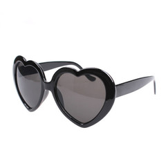 Sunglasses Ladies Sunglasses Women's Sunglasses Heart-shaped Glasses For Women Fashion Sunglasses voilet normal