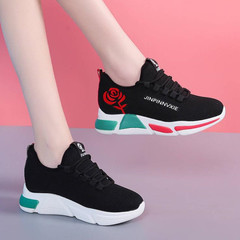 Sneakers Ladies Sneakers Women Athletic Shoes Women  Air-permeable Sports Shoes Ladies black 36