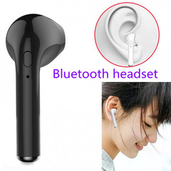 bluetooth earphones bluetooth wireless earphones headset with Microphone For All Smart Phone Table black