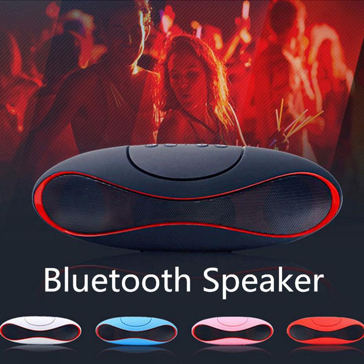 Portable Bluetooth Speaker Outdoor Camping Loudspeaker Car Stereo Music Olive Mini Wireless Speakers black