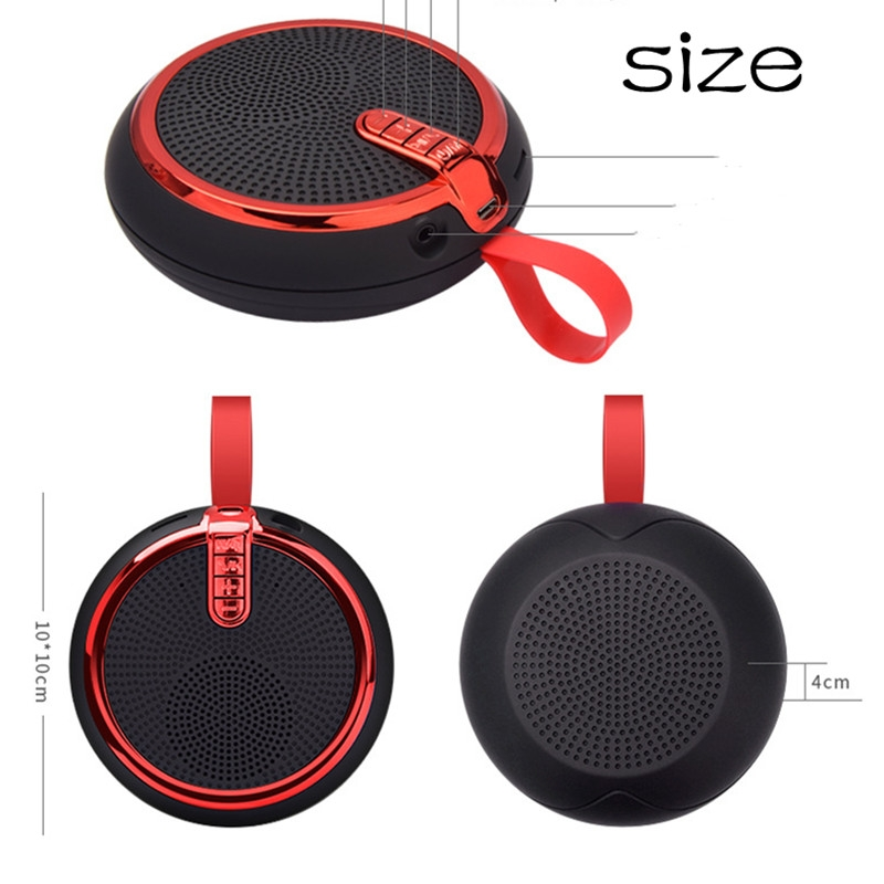 Bluetooth Speaker Bluetooth Speakers Bass Portable Card Wireless Portable Intelligent Speaker voilet normal 2