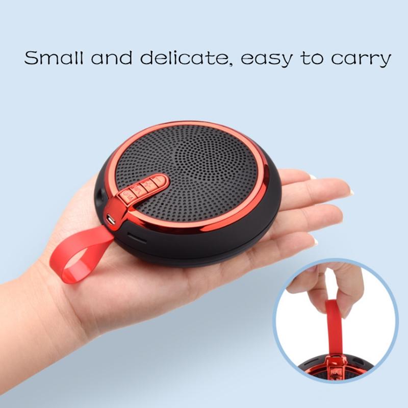 Bluetooth Speaker Bluetooth Speakers Bass Portable Card Wireless Portable Intelligent Speaker voilet normal 4