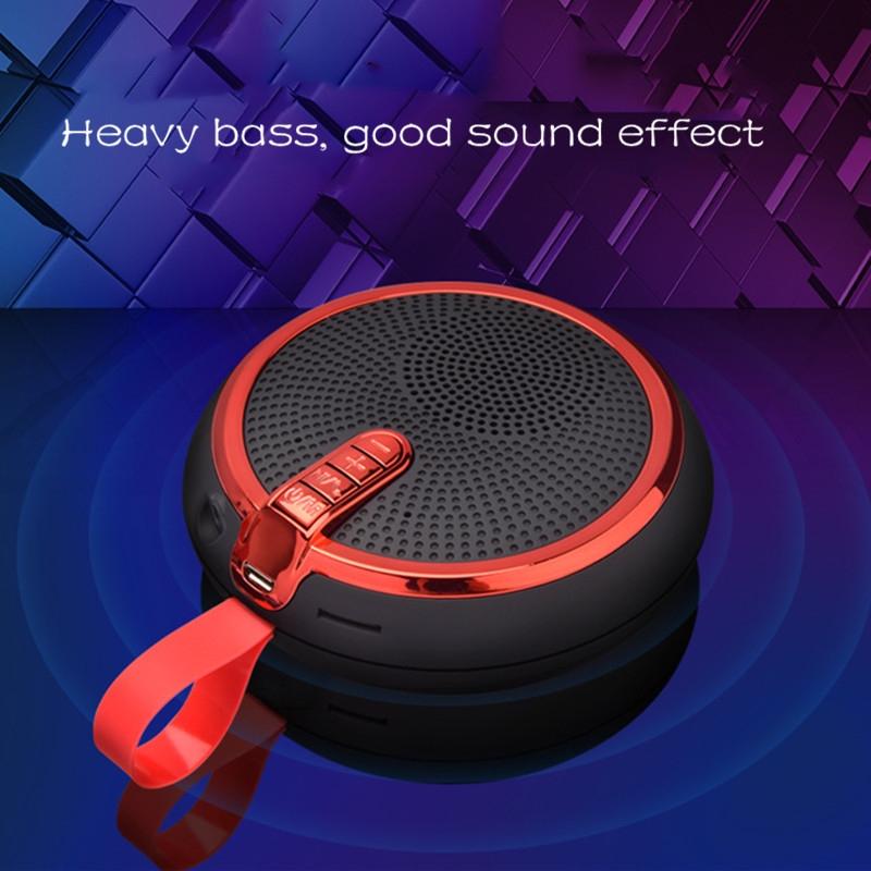 Bluetooth Speaker Bluetooth Speakers Bass Portable Card Wireless Portable Intelligent Speaker voilet normal 5