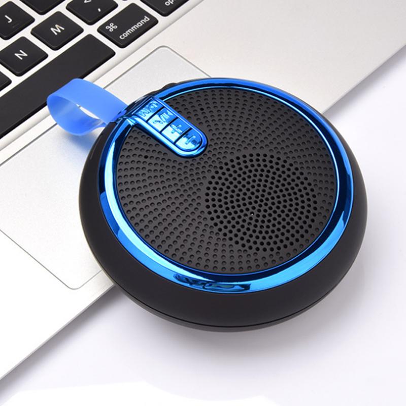 Bluetooth Speaker Bluetooth Speakers Bass Portable Card Wireless Portable Intelligent Speaker voilet normal 9