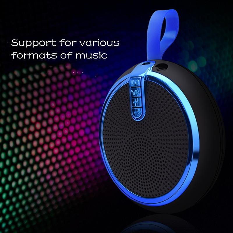 Bluetooth Speaker Bluetooth Speakers Bass Portable Card Wireless Portable Intelligent Speaker voilet normal 10