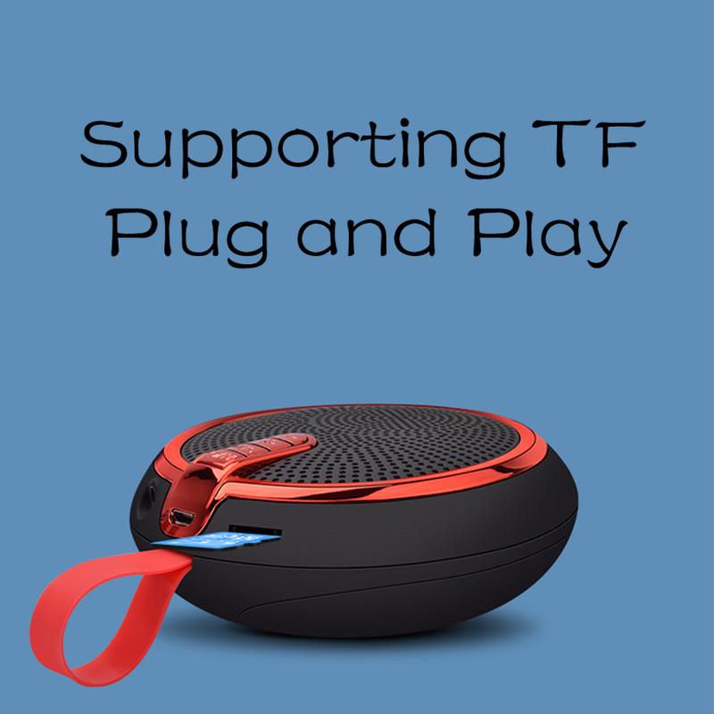 Bluetooth Speaker Bluetooth Speakers Bass Portable Card Wireless Portable Intelligent Speaker voilet normal 6