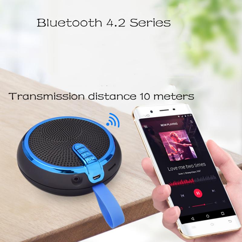 Bluetooth Speaker Bluetooth Speakers Bass Portable Card Wireless Portable Intelligent Speaker voilet normal 11