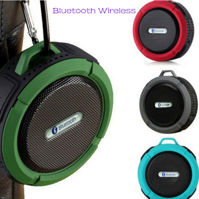 Bluetooth Speakers Waterproof Bluetooth Speaker Bass Wireless Bluetooth Speaker Portable red normal 1
