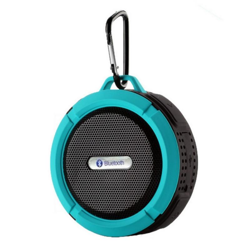 Bluetooth Speakers Waterproof Bluetooth Speaker Bass Wireless Bluetooth Speaker Portable red normal 2